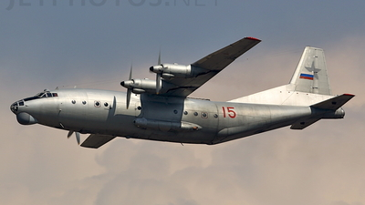 15 - Antonov An-12 - Russia - Air Force