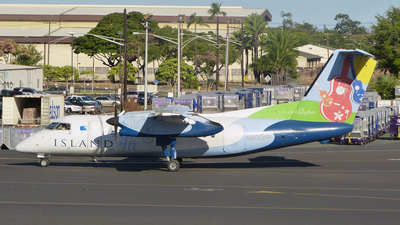 A picture of N805WP - De Havilland Canada Dash 8100 - [353] - © Aaron Hall