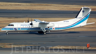 JA725A - Bombardier Dash 8-Q315MPA - Japan - Coast Guard