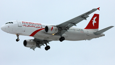 A6-ANE - Airbus A320-214 - Air Arabia