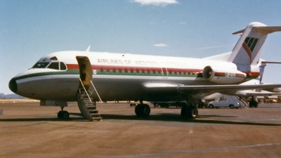 VH-FKC - Fokker F28-1000 Fellowship - Airlines of Western Australia