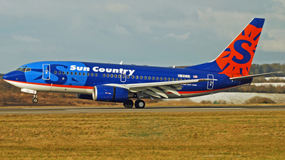 G-EZJJ - Boeing 737-73V - Sun Country Airlines