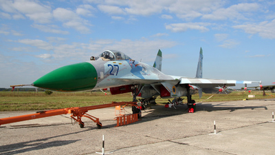 27 - Sukhoi Su-27 Flanker - Ukraine - Air Force