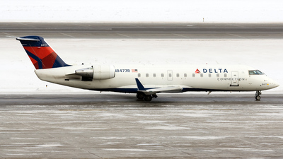 A picture of N8477R - Mitsubishi CRJ200LR - SkyWest Airlines - © Jeremy D. Dando