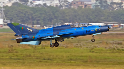 F947 - Chengdu FT-7B - Bangladesh - Air Force