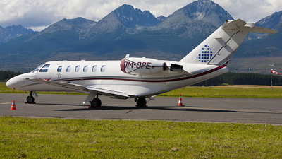 OM-OPE - Cessna 525A CitationJet 2 - Opera Jet