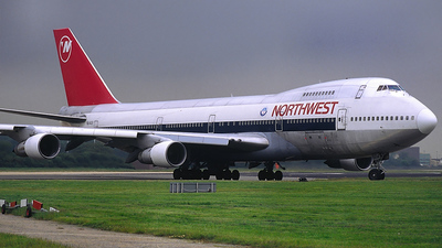 N614US - Boeing 747-251B - Northwest Airlines