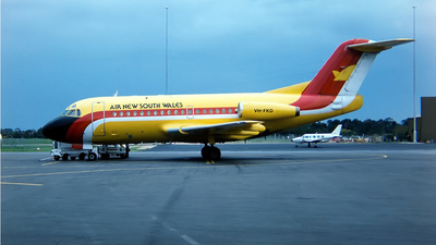 VH-FKD - Fokker F28-1000 Fellowship - Air New South Wales