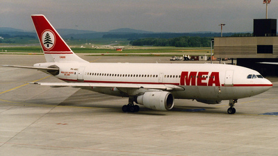 PH-AGC - Airbus A310-203 - Middle East Airlines (MEA)