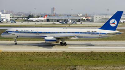 A picture of 4KAZ43 - Boeing 7572M6 - Azerbaijan Airlines - © Mehmetcan Ozdogan