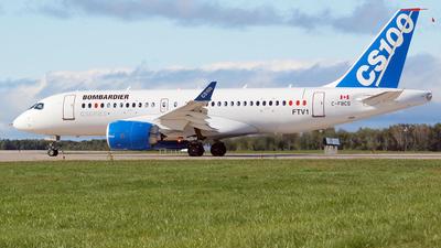 C-FBCS - Bombardier CSeries CS100 - Bombardier Aerospace