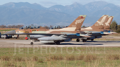 993 - Lockheed Martin F-16B Netz - Israel - Air Force