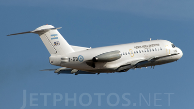 T-50 - Fokker F28-1000 Fellowship - Argentina - Air Force