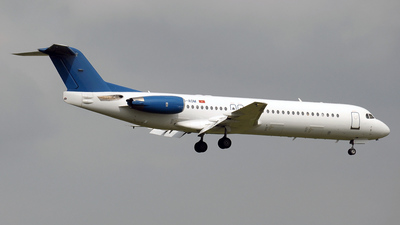 YU-AOM - Fokker 100 - Montenegro Airlines