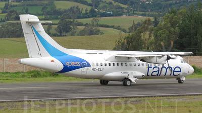 HC-CLT - ATR 42-500 - TAME Ecuador