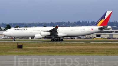 RP-C3431 - Airbus A340-313X - Philippine Airlines