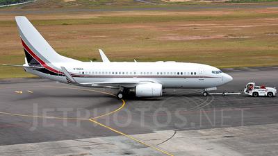N796BA - Boeing 737-7BC(BBJ) - Private