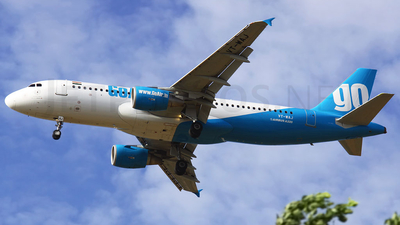VT-WAJ - Airbus A320-214 - Go Air