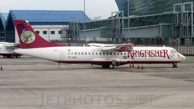 VT-KAI - ATR 72-212A(500) - Kingfisher Airlines