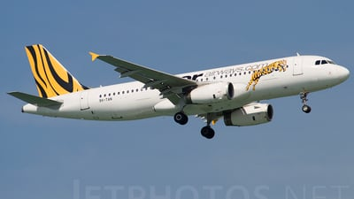9V-TAN - Airbus A320-232 - Tiger Airways