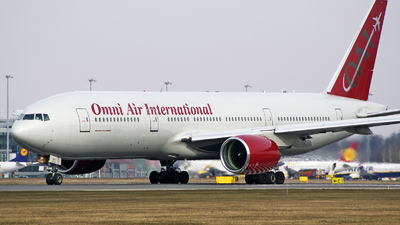 N927AX - Boeing 777-222(ER) - Omni Air International (OAI)