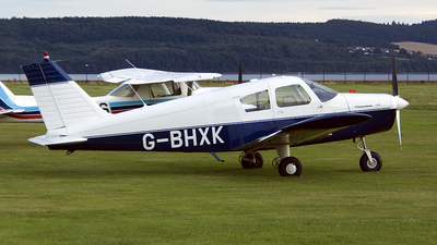 G-BHXK - Piper PA-28-140 Cherokee - Private
