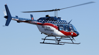 A picture of N395AE - Bell 206L1 LongRanger II - [45551] - © Carlos Barcelo