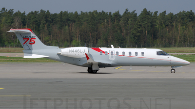 N446LJ - Bombardier Learjet 45XR - Private