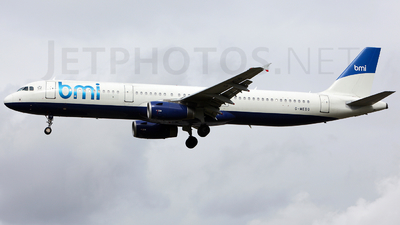 G-MEDG - Airbus A321-231 - bmi British Midland International