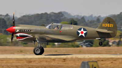 NX940AK - Curtiss P-40 Kittyhawk - Private