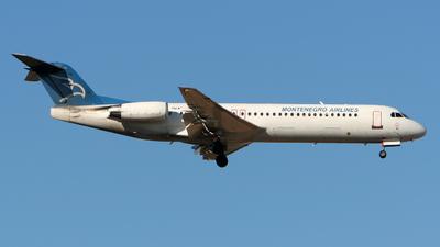 YU-AOP - Fokker 100 - Montenegro Airlines