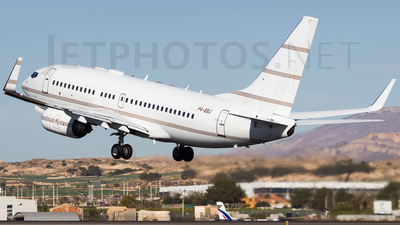 P4-BBJ - Boeing 737-7AW(BBJ) - Private