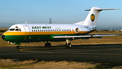 VH-EWC - Fokker F28-4000 Fellowship - East-West Airlines