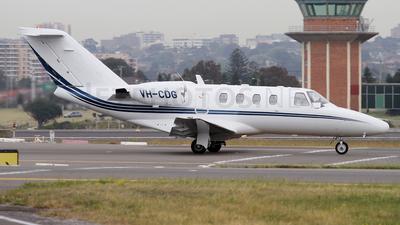 VH-CDG - Cessna 525 CitationJet 1 - Private