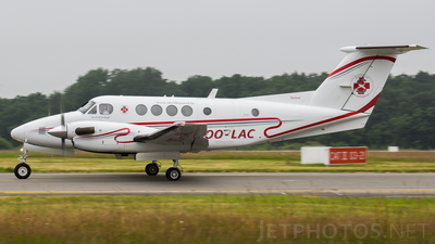 OO-LAC - Beechcraft 200C Super King Air - Abelag Aviation