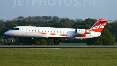 4L-GAA - Bombardier CL-600-2B19 Challenger 850 - Georgian Airways