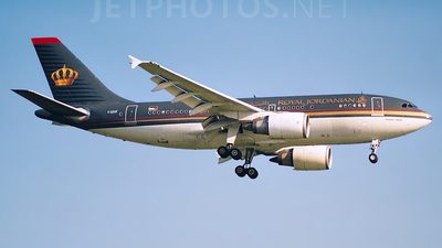F-ODVF - Airbus A310-304(F) - Royal Jordanian
