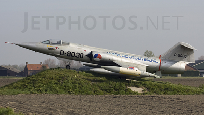 D-8030 - Lockheed F-104G Starfighter - Netherlands - Royal Air Force