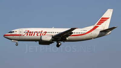 LY-SKW - Boeing 737-382 - Aurela