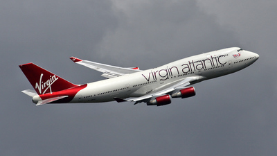 G-VROC - Boeing 747-41R - Virgin Atlantic Airways