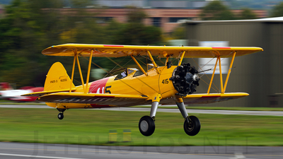 A picture of N52551 - BoeingStearman Model 75 - [751707] - © Manny Gonzalez - Thrust Images