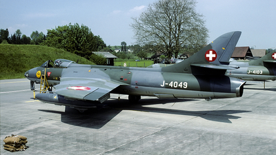 J-4049 - Hawker Hunter F.58 - Switzerland - Air Force