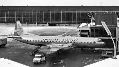 N6126A - Lockheed L-188A Electra - American Airlines