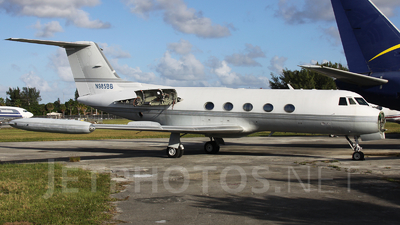 N985BB - Gulfstream G-IITT - Private