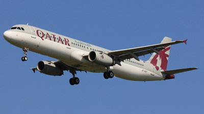 A7-ADY - Airbus A321-231 - Qatar Airways