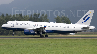 D-ANNJ - Airbus A320-232 - Blue Wings
