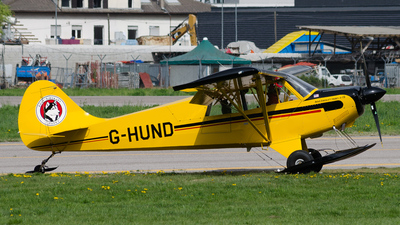 G-HUND - Aviat A-1B Husky - Private