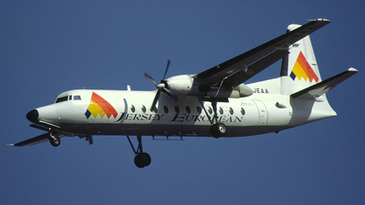 G-JEAA - Fokker F27-500 Friendship - Jersey European Airways