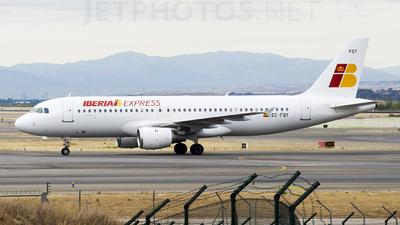 EC-FQY - Airbus A320-211 - Iberia Express
