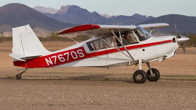 N7670S - Bellanca 8GCBC Scout - Private